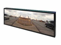 The Royal Road Project on the pano monitor.