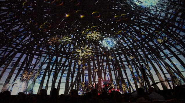 Steve Roach performs with visuals by Audri Phillips. 2013